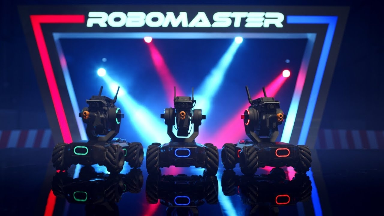 DJI robomaster s1 best Robot for fun